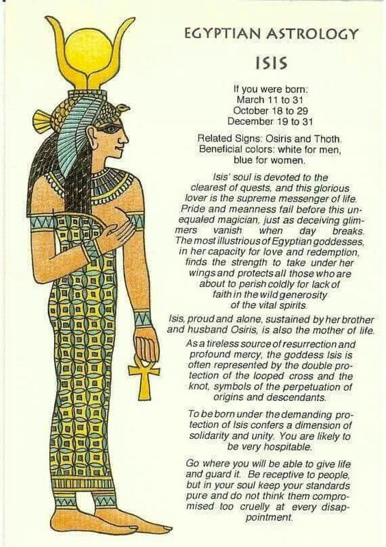 If you want more information on Egyptian Astrology and Egyptian Zodiac Signs, you might like: