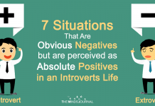 7 Situations That Are Obvious Negatives But Are Perceived As Absolute Positives In An Introverts Life