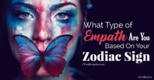 type of empath based on zodiac