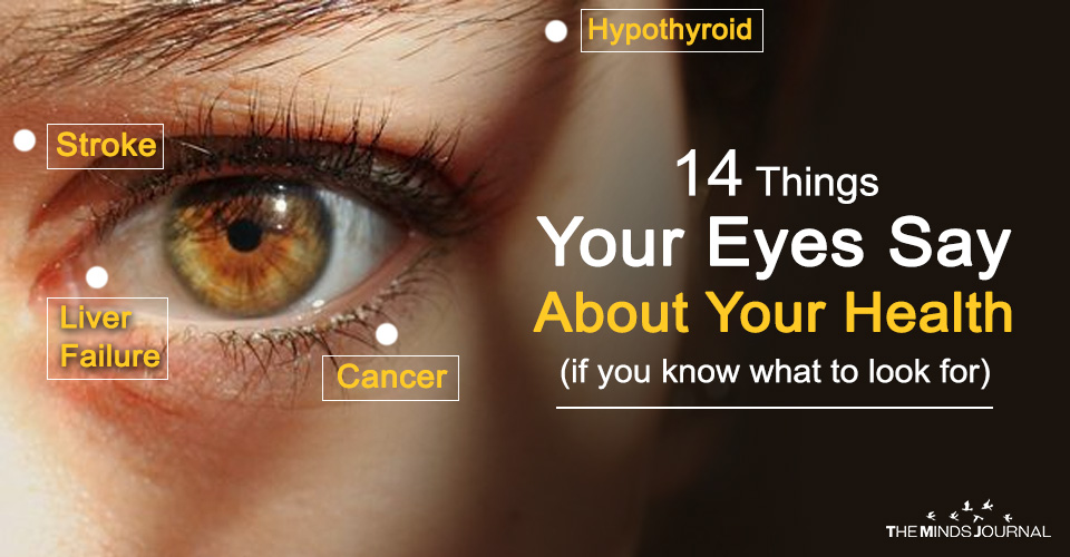 14 Things Your Eyes Say About Your Health (if you know what to look for)