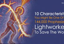 10 Characteristics You Might Be One Of The 144000 Prophesized Lightworkers To Save The World
