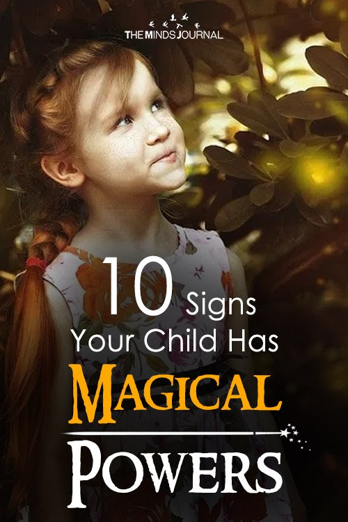 10 Signs Your Child Has Extra Ordinary Magical Powers