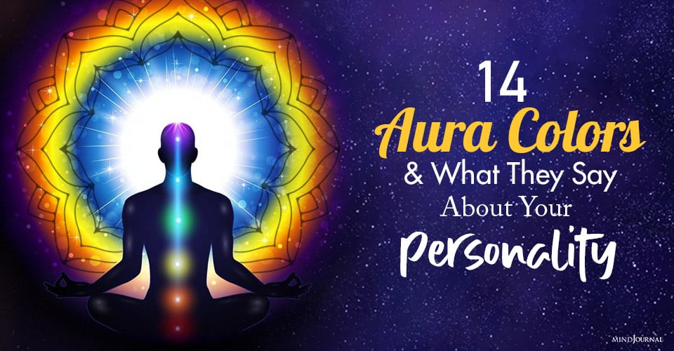 aura colors and what they say about your personality