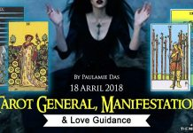 Tarot General, Manifestation And Love Guidance For Wednesday (18 April 2018)