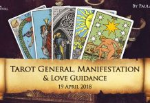 Tarot General, Manifestation And Love Guidance For Thursday (19 April 2018)