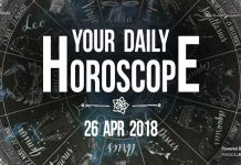 Your Daily Predictions for Thursday, 26 April 2018