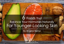 6 FOODS THAT BALANCE YOUR HORMONES NATURALLY FOR YOUNGER-LOOKING SKIN