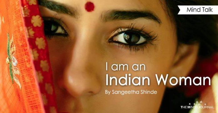 I am an Indian woman