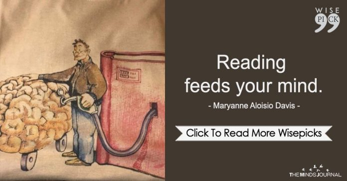 Reading Feeds Your Mind