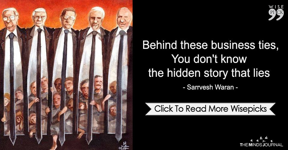 Behind These Business Ties,You Don't Know The Hidden Story That Lies