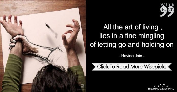All The Art Of Living,Lies In A Fine Mingling