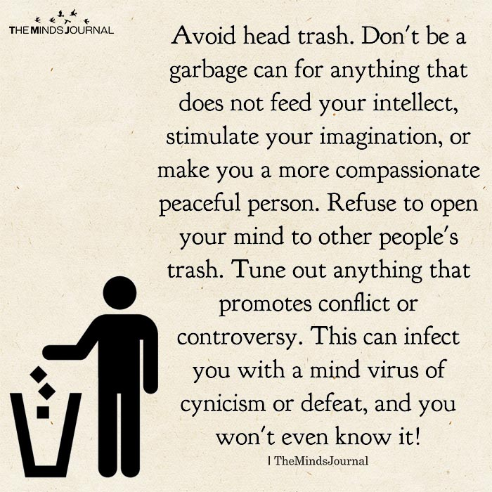 Avoid Head Trash