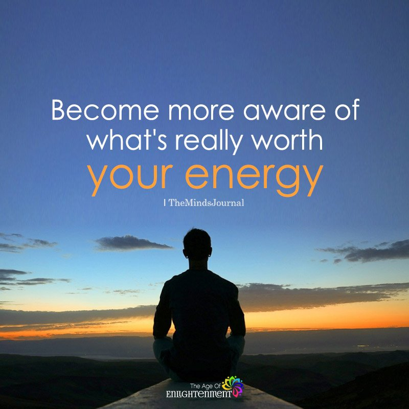 Become More Aware of What's Really Worth