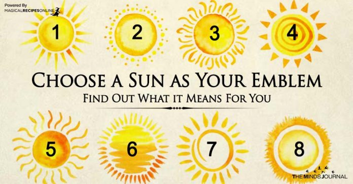 Choose a Sun as Your Emblem – Find Out What it Means For You