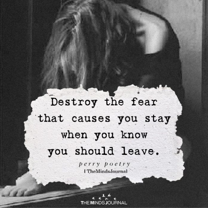 Destroy The Fear