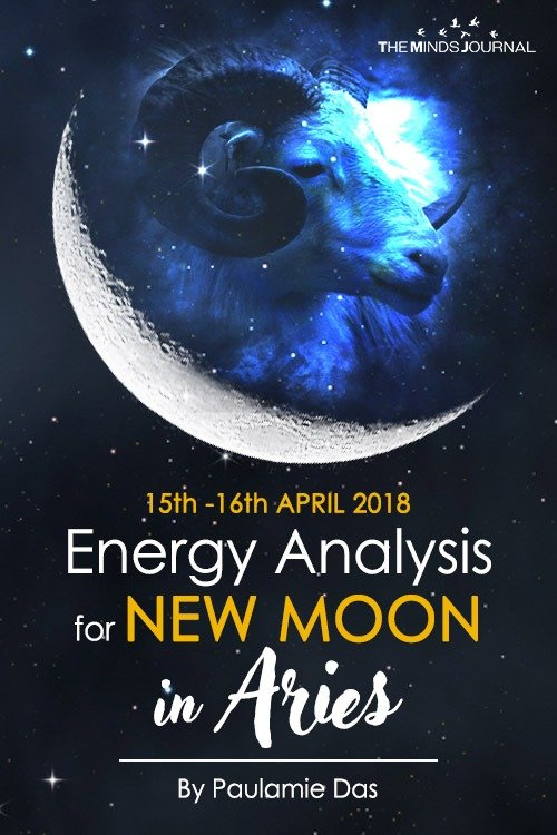 ENERGY ANALYSIS for NEW MOON in ARIES - 15th -16th APRIL 2018