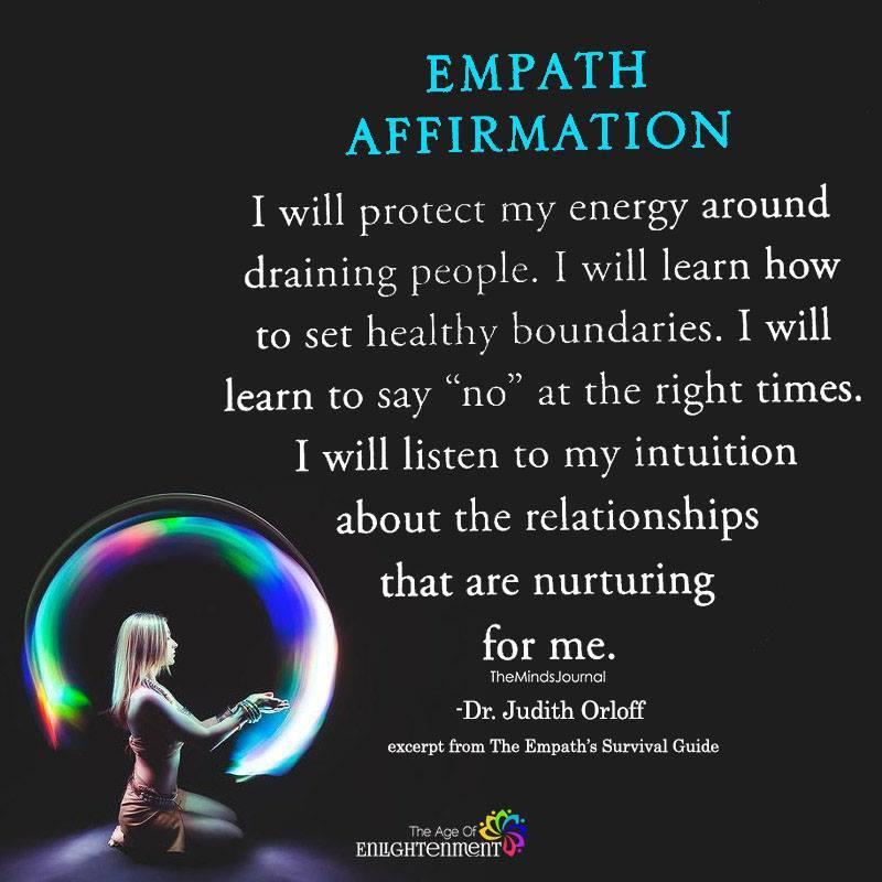 Empath Affirmation