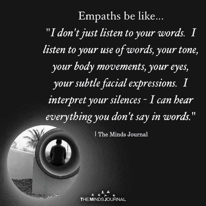 Empath Be like
