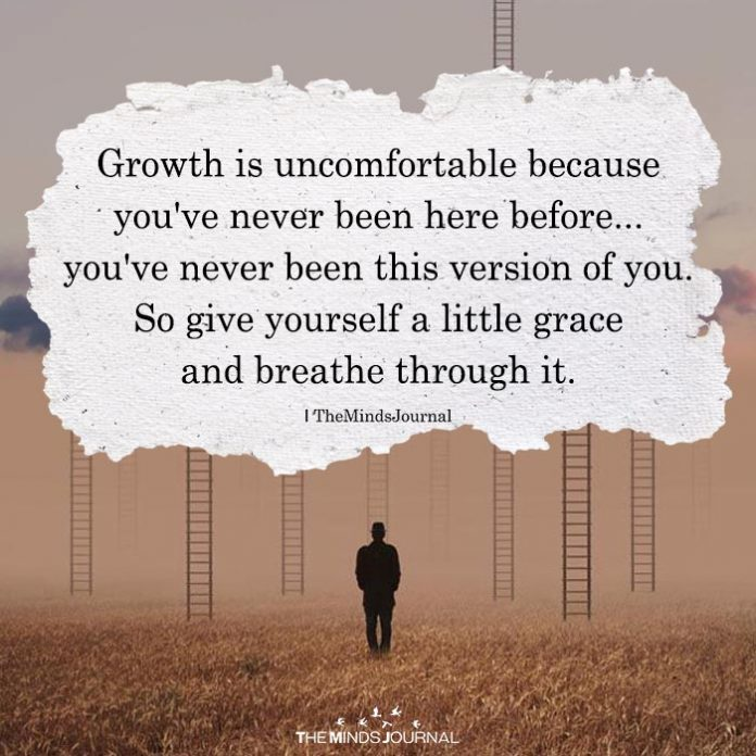 Growth Is Uncomfortablef
