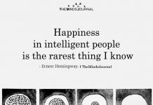 Happiness In Intelligent People