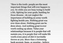 Here Is The Truth People Are The Most Important Things That Will Ever Happen To You
