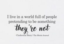 I Live in A World Full Of People