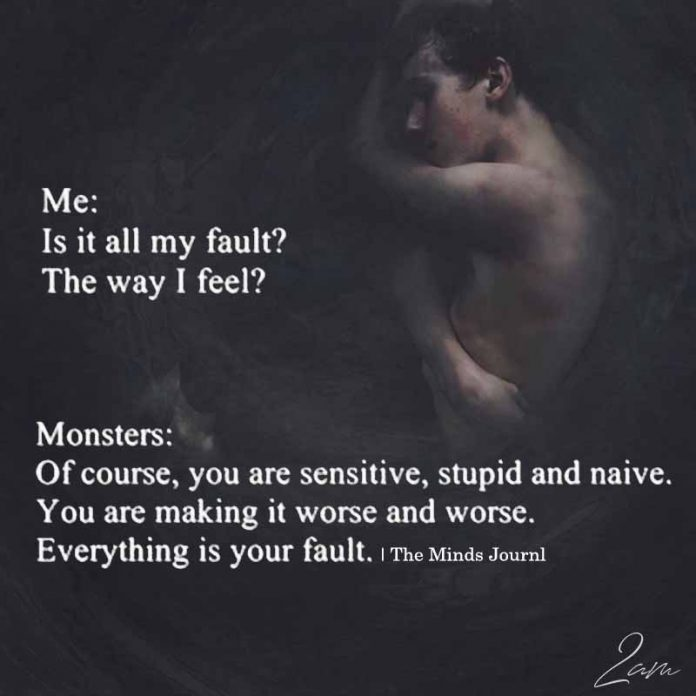 Me Is It All My Fault