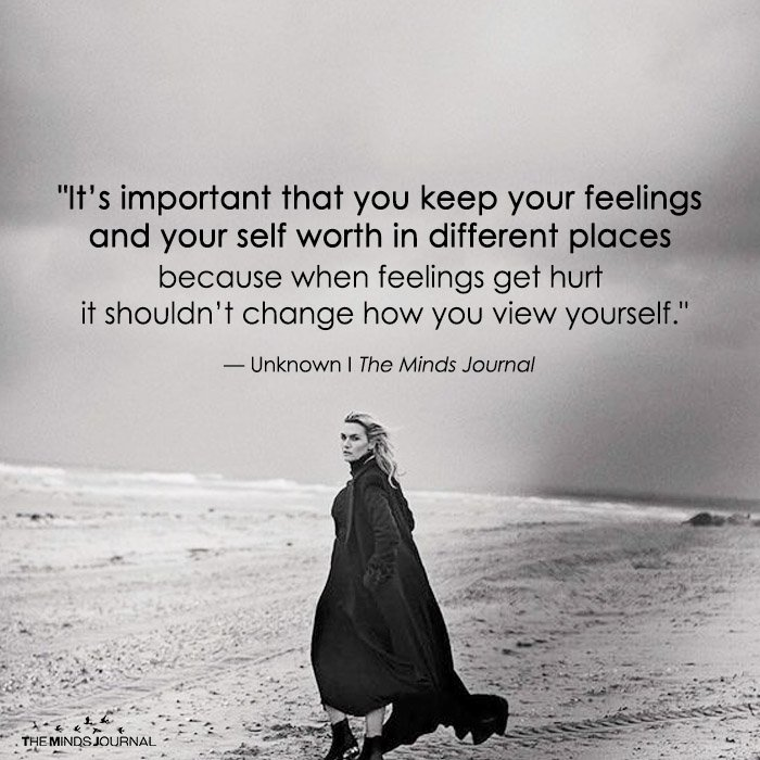 It's Important That You Keep Your Feelings