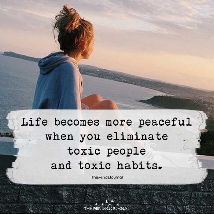 Life Becomes More Peaceful
