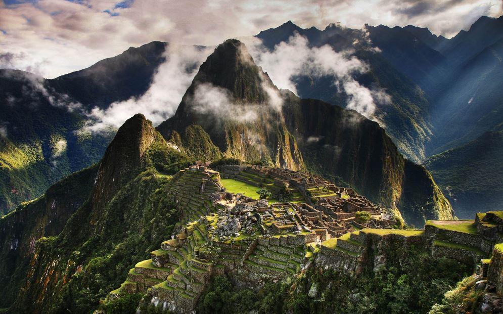 Machu Pichu Peru Spiritual Places
