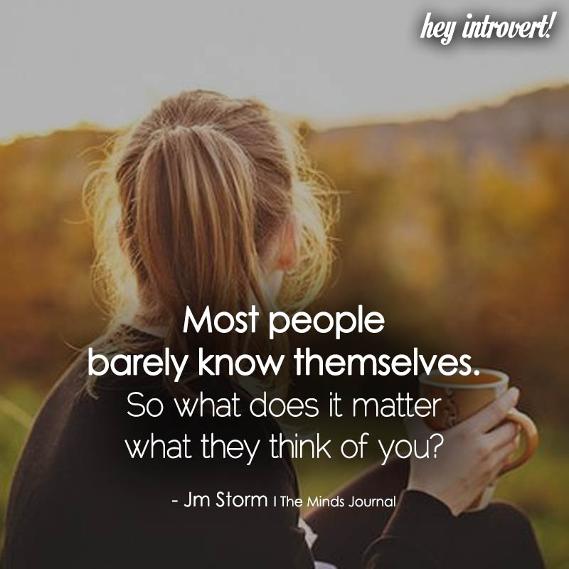 Most People Barely Know Themselves