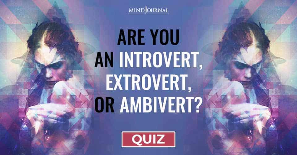 Naturally Introvert Extrovert Or Ambivert