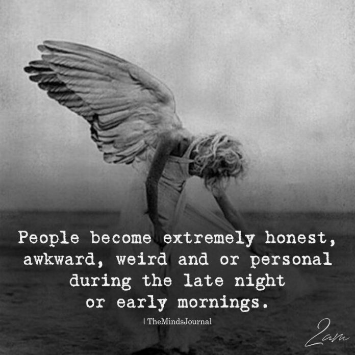 People Become Extremely Honest