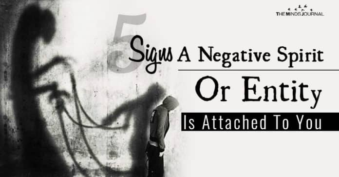 Signs Negative Spirit Attached To You