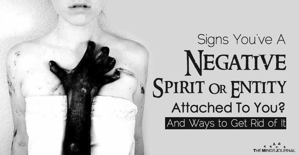 Negative relationship signs