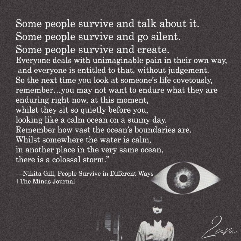 Some People Survive And Talk About It