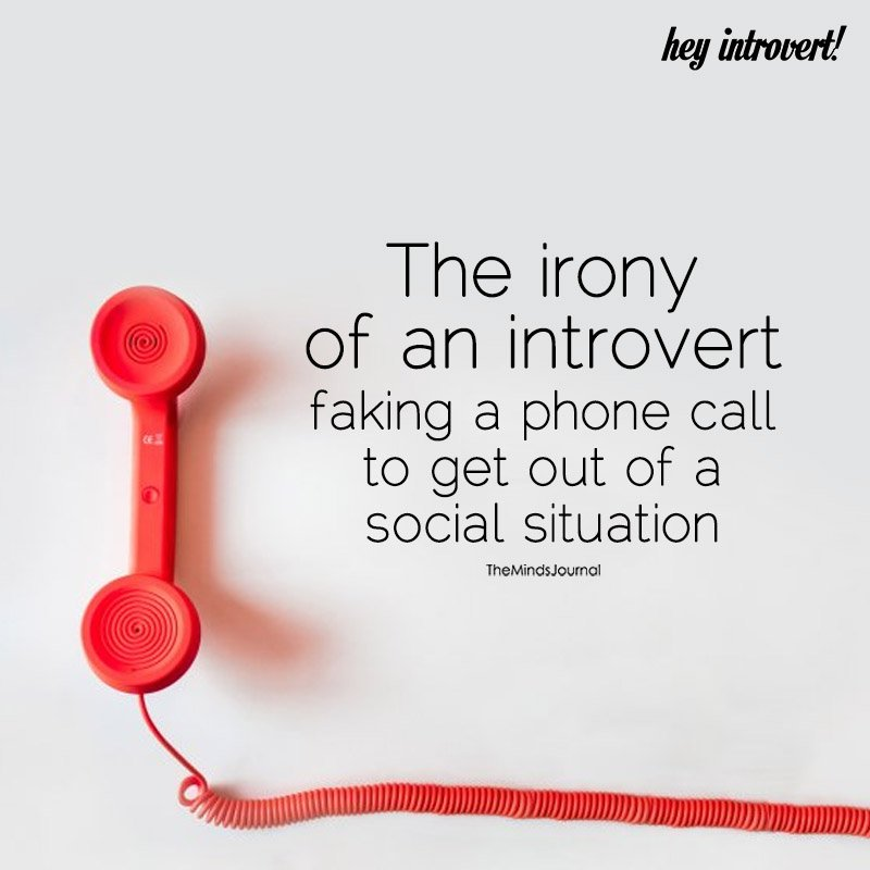The Irony Of An Introvert