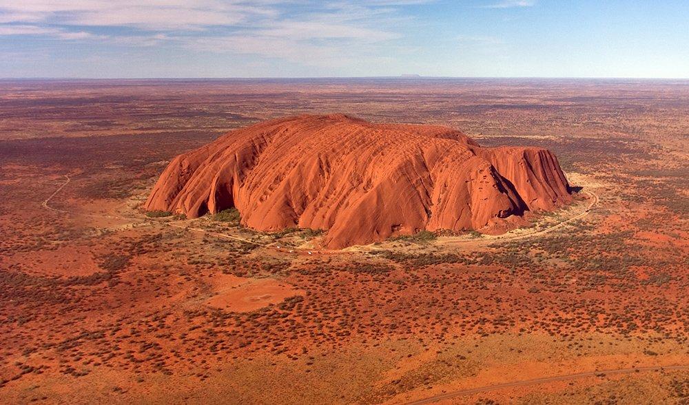 plateau of Uluru