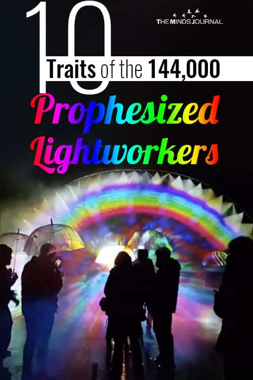 Traits Prophesized Lightworkers pin