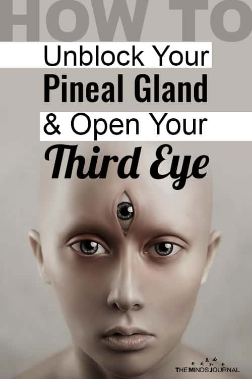 Unblock Your Pineal Gland Open Your Third Eye pin
