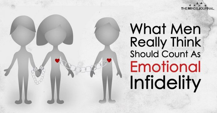 What Men Really Think Should Count As \'Emotional Infidelity\'