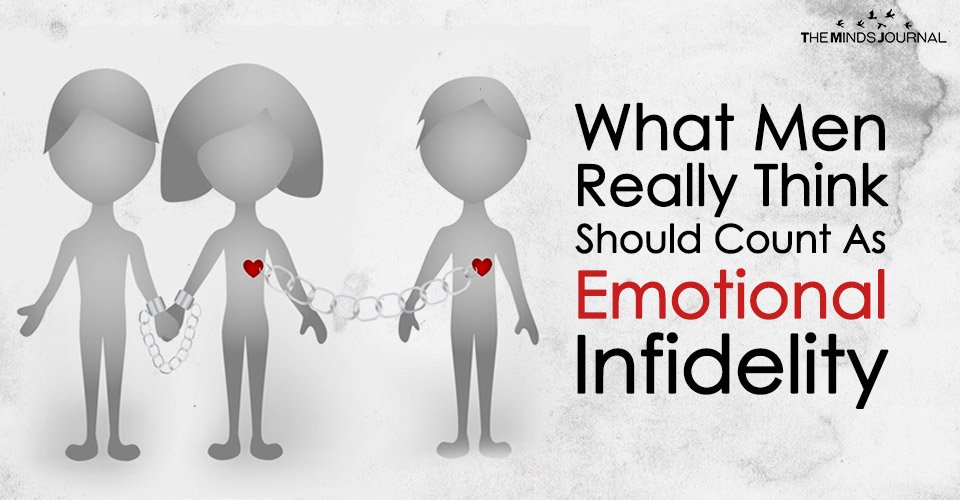 What Men Really Think Should Count As 'Emotional Infidelity'