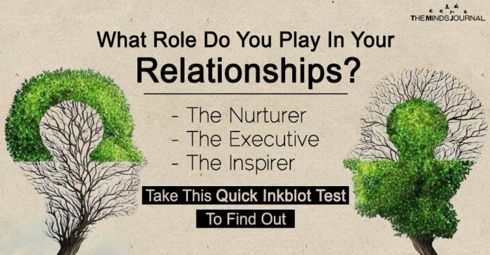 What Role Do You Play In Your Relationships Take This Quick Inkblot Test To Find Out