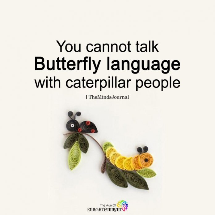 You Cannot Talk Butterfly Language
