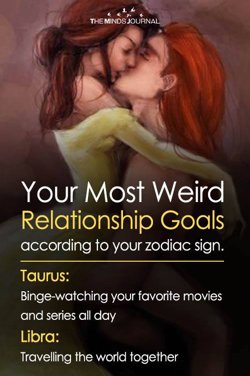 Your Most Weird Relationship Goals According To Your Zodiac Sign