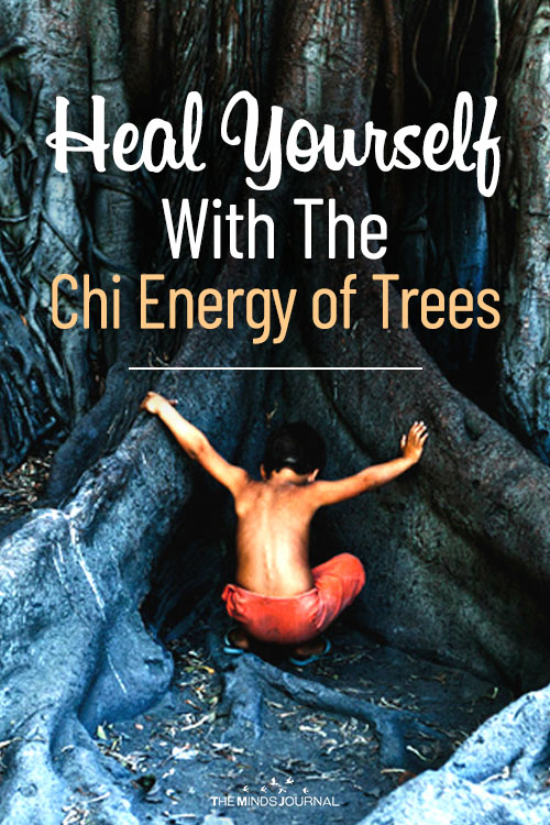 heal yourself with chi energy pin