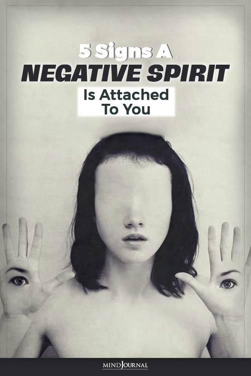 negative spirit entity pin