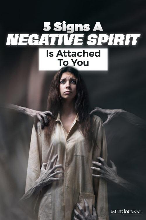 negative spirit pin