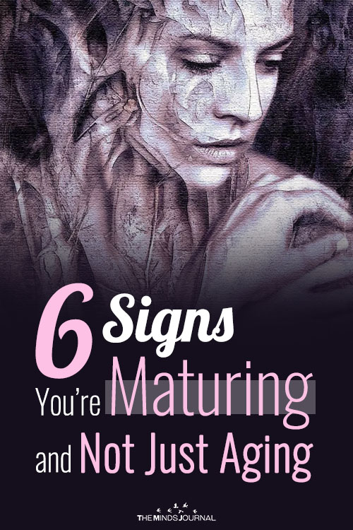 signs you are maturing pin