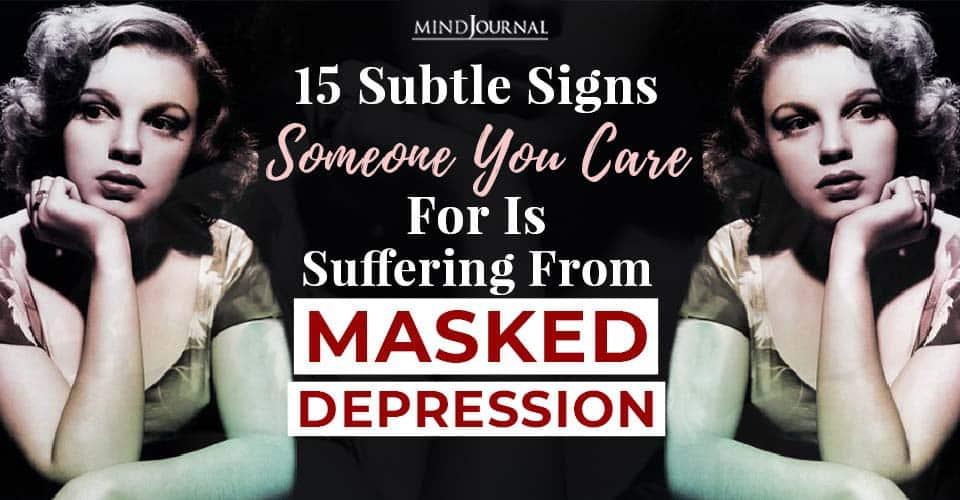 suffering masked depression